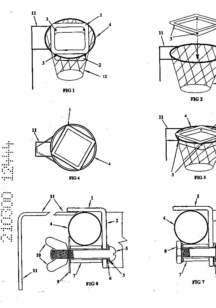 how to make a netball hoop