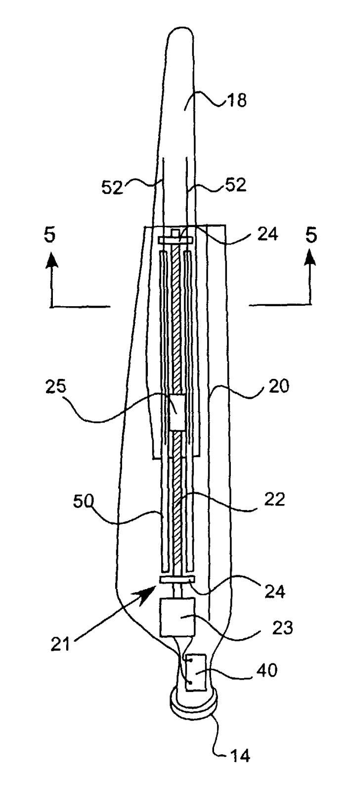 variable length wind turbine blade by energy unlimited  inc   u2013 au 2003247489