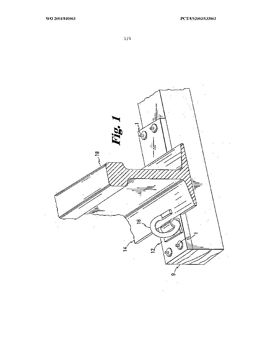 Rail anchoring spike by Lewis Bolt & Nut Company – AU 2003286680