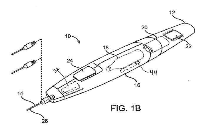 integrated cryosurgical system with refrigerant and