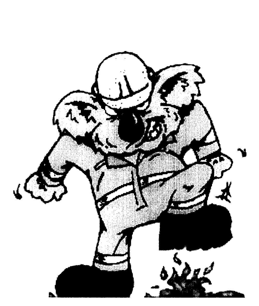 Intellectual Property Cartoon: KOALA,CARTOON IS FIREMAN STAMPS OUT FIRE By Mudgeeraba