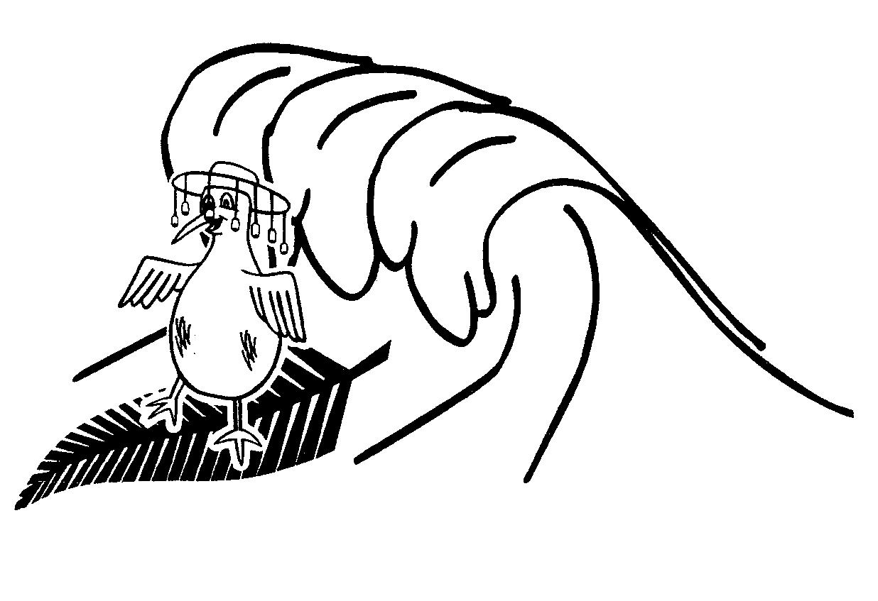 Kiwi Cartoon Drawing Kiwi,cartoon Wears Hat,corked