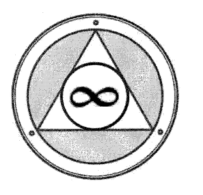 Infinity Symbol In Circle In Triangle In Ring By Global Bionic