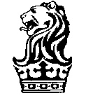 Lion Head On Crown LogoLion With Crown Car Logo