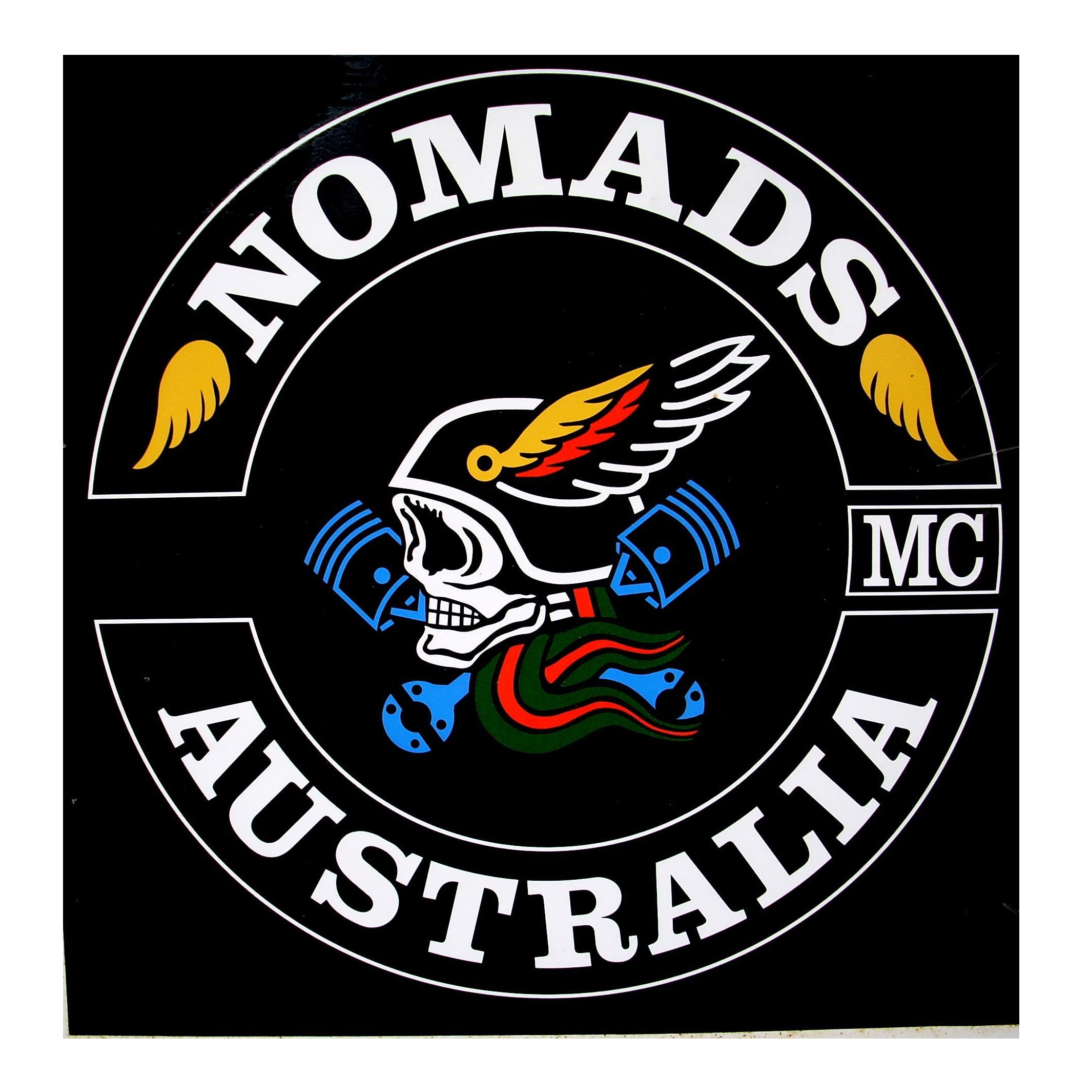 Nomads mc Logo Nomads Australia mc Logo by