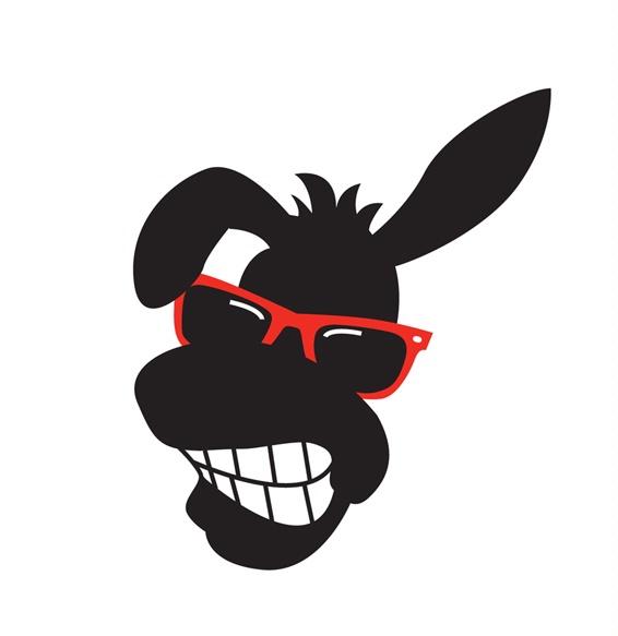 DONKEY'S HEAD,CARTOON,SMILING WEARS SUNGLASSES by COMNET ...