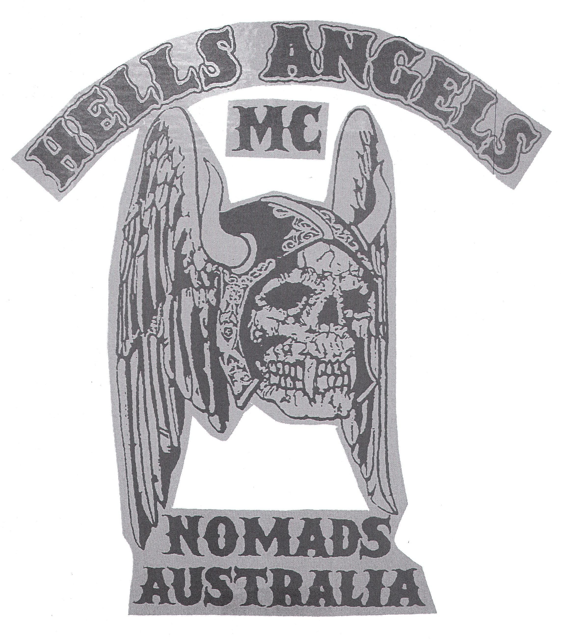 Nomads mc Logo Hells Angels mc Nomads