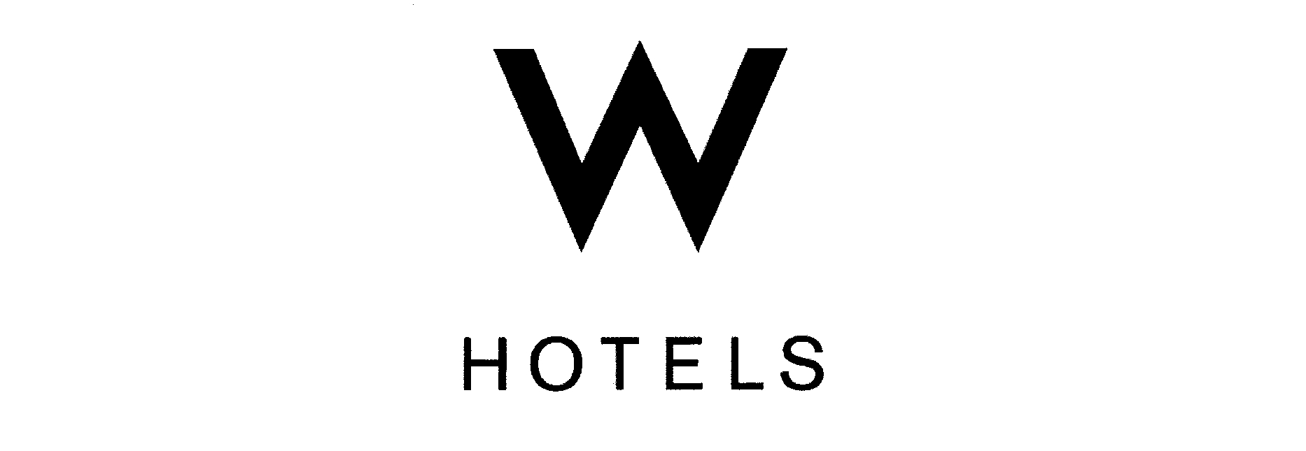 HOTELS by Starwo...W Hotels Logo