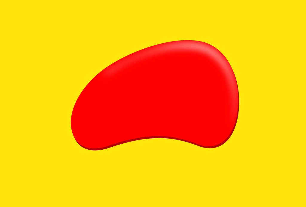 Yellow Oval Logo in Yellow Rectangle Logo