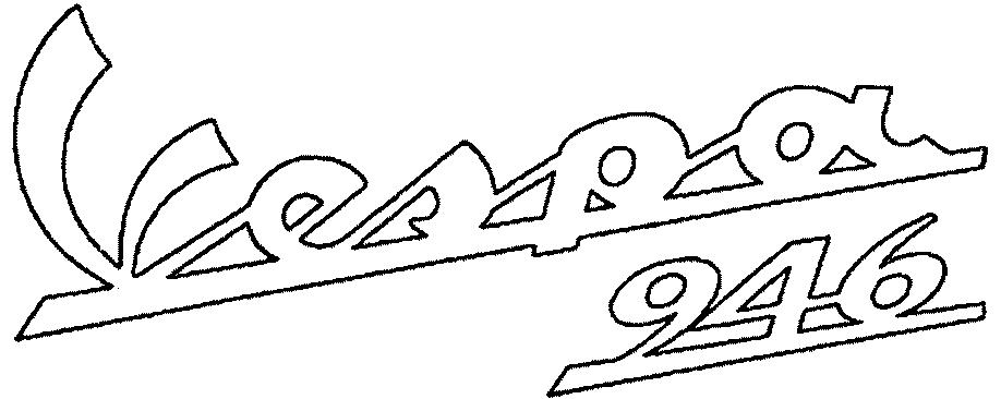 Piaggio Vespa Logo Vespa 946 Logo by Piaggio