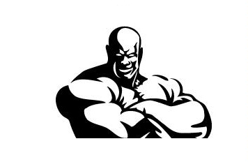 STRONGMAN WITH ARMS CROSSED logo by Monster Sports Nutrition Pty LtdStrong Man Logo