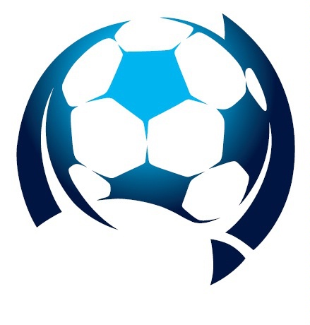 mapaustraliastylised around soccer ball by football