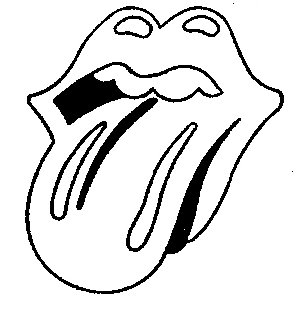 Rolling Stones Coloring Pages Coloring Pages