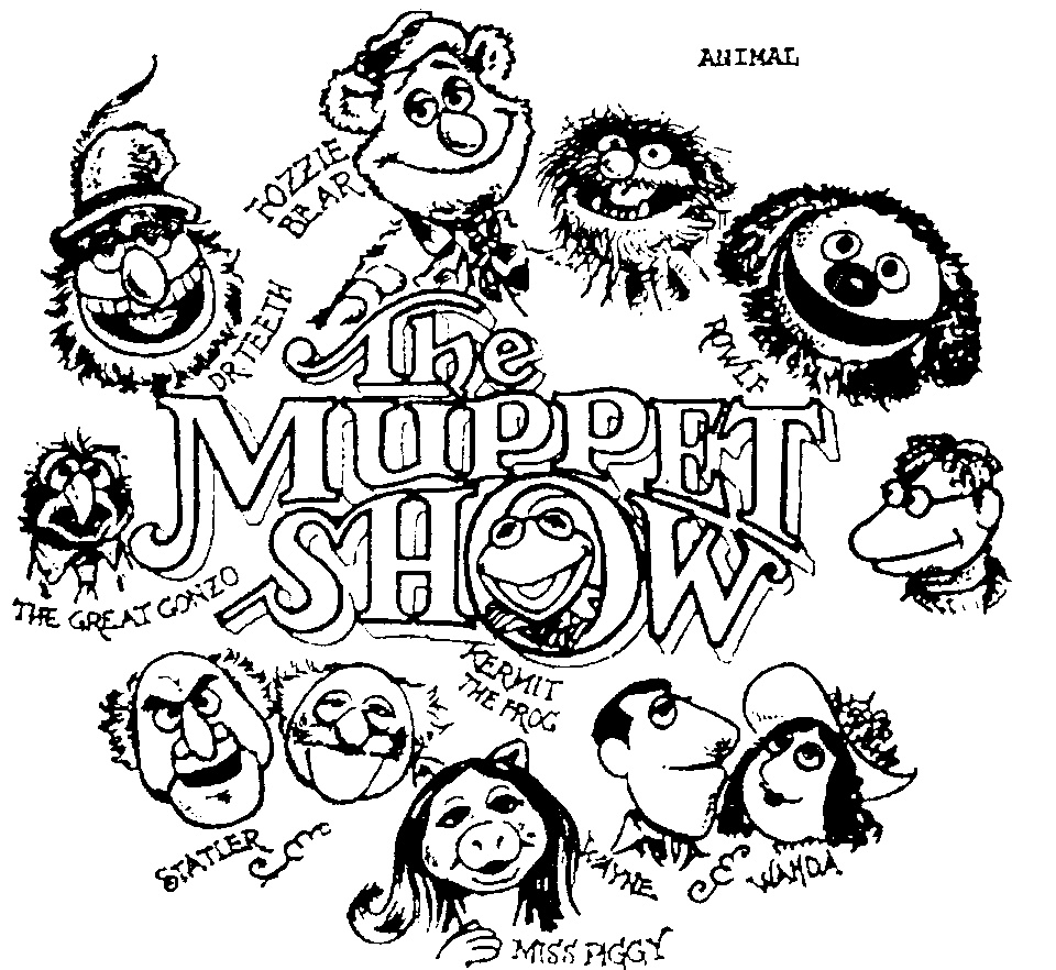 Muppets Animal Free Printable: 1000+ Images About The Muppet Show On Pinterest