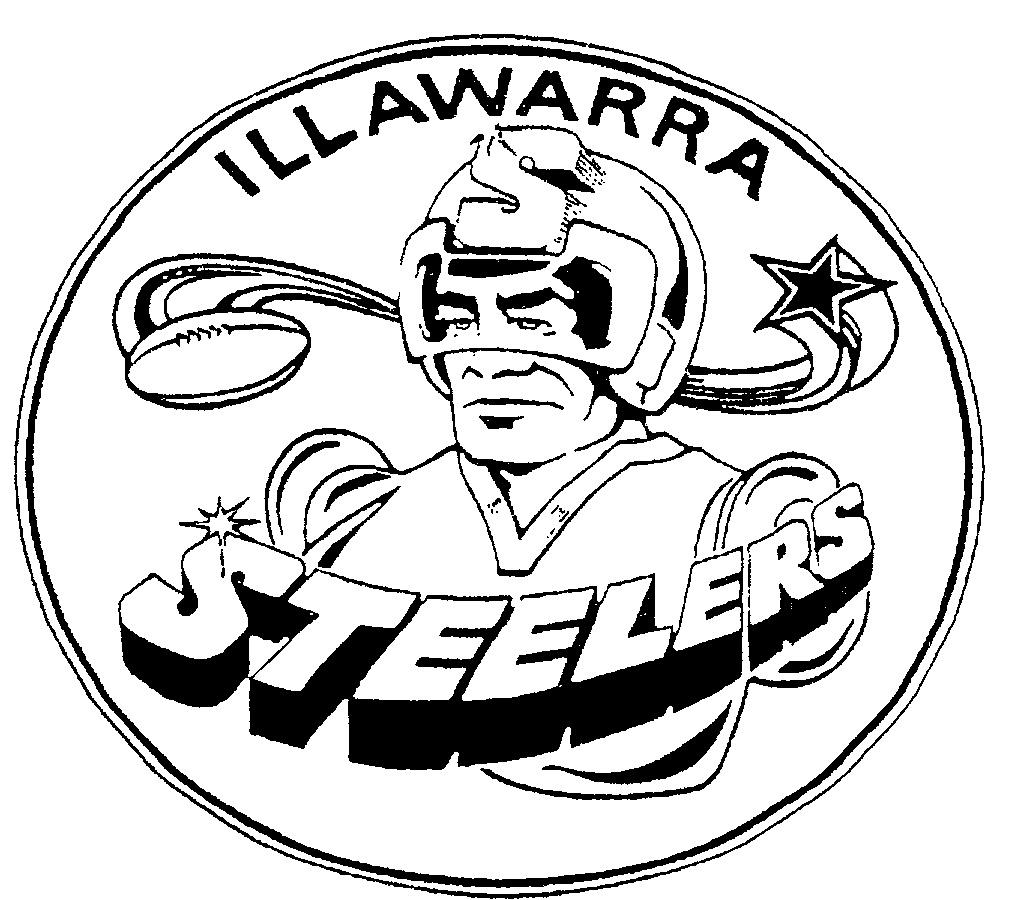 steelers logo drawings