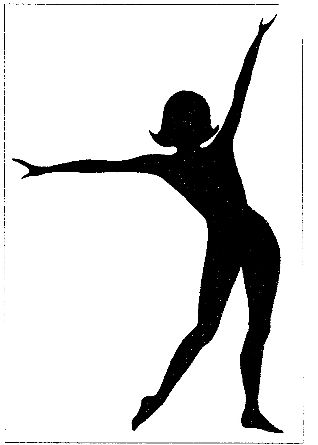 Woman Silhouette Logo Exercising,silhouette Logo