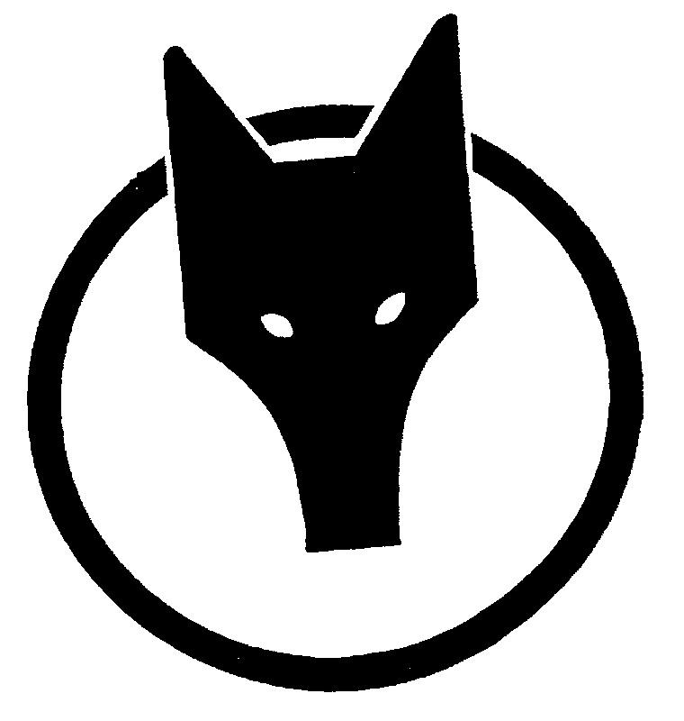 Cute Fox Head Silhouet...
