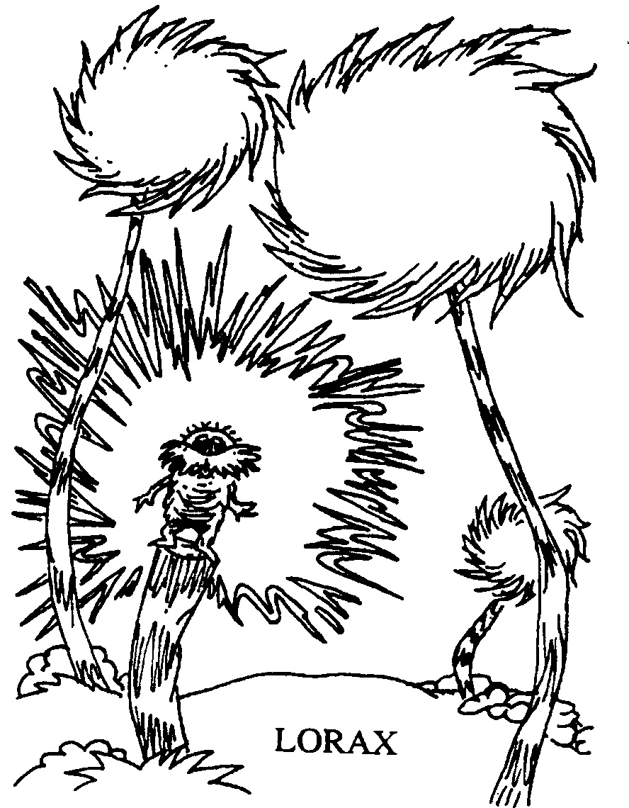 coloring pages of dr seuss - photo#31