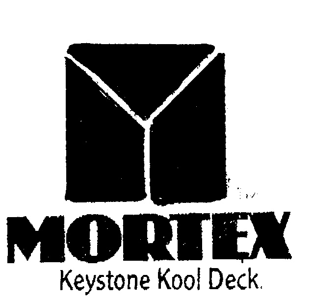 Kool Deck: MORTEX KEYSTONE KOOL DECK. By Peter Anthony Percy