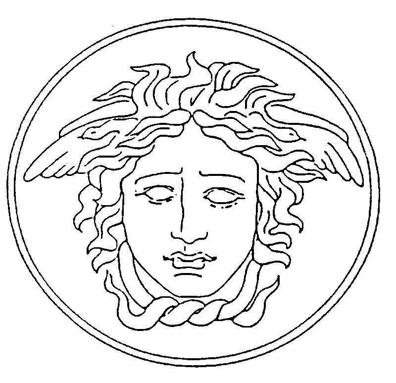 Versace Logo Circle Logo by Gianni Versace