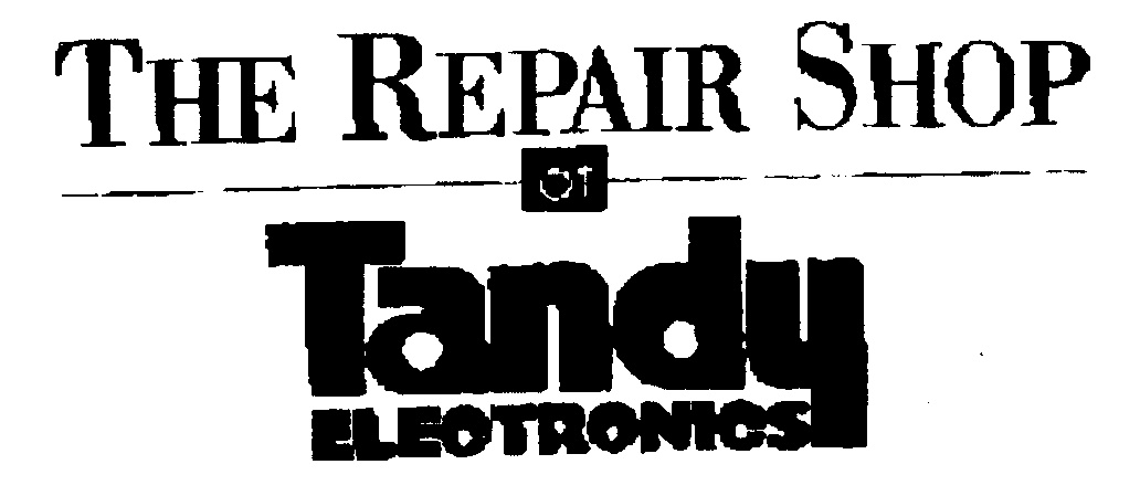 the repair shop at tandy electronics by online business number 1 pty ltd