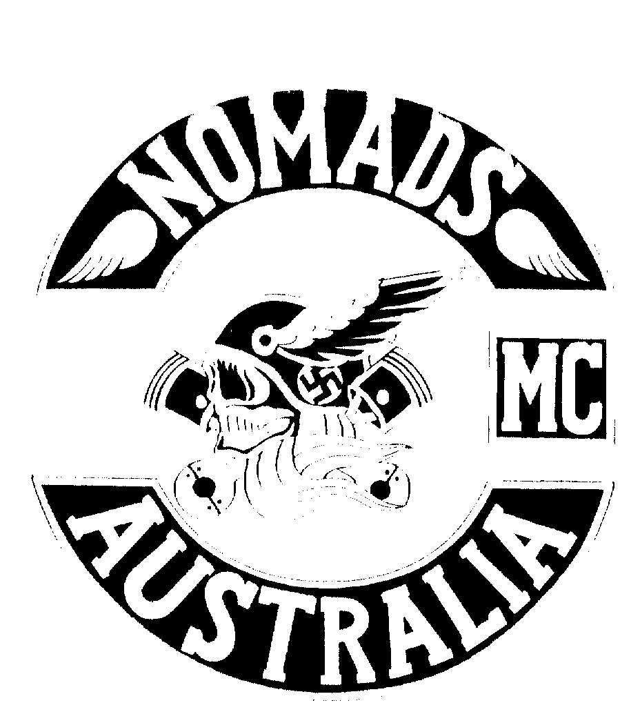 Nomads mc Logo Nomads mc Australia Logo by