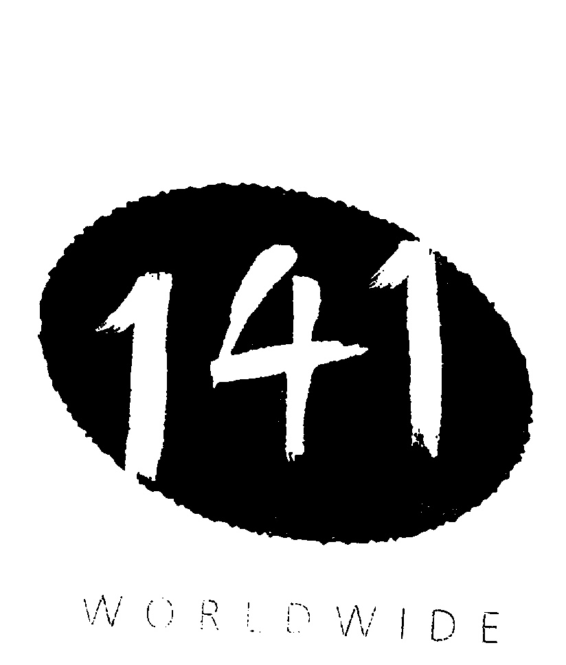 141 WORLDWIDE logo by Bates Worldwide, Inc. a Delaware corporation