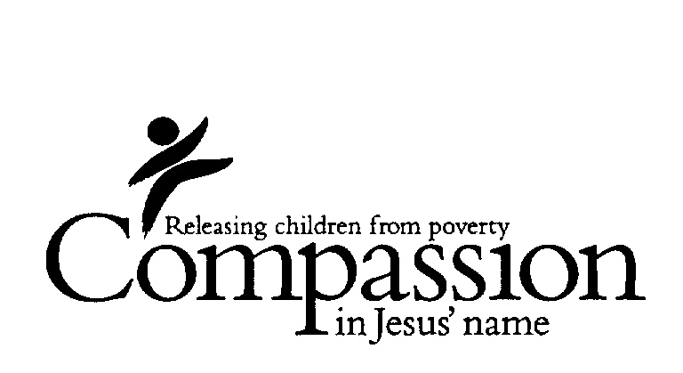 ... POVERTY IN JESUS' NAME logo by Compassion International Incorporated