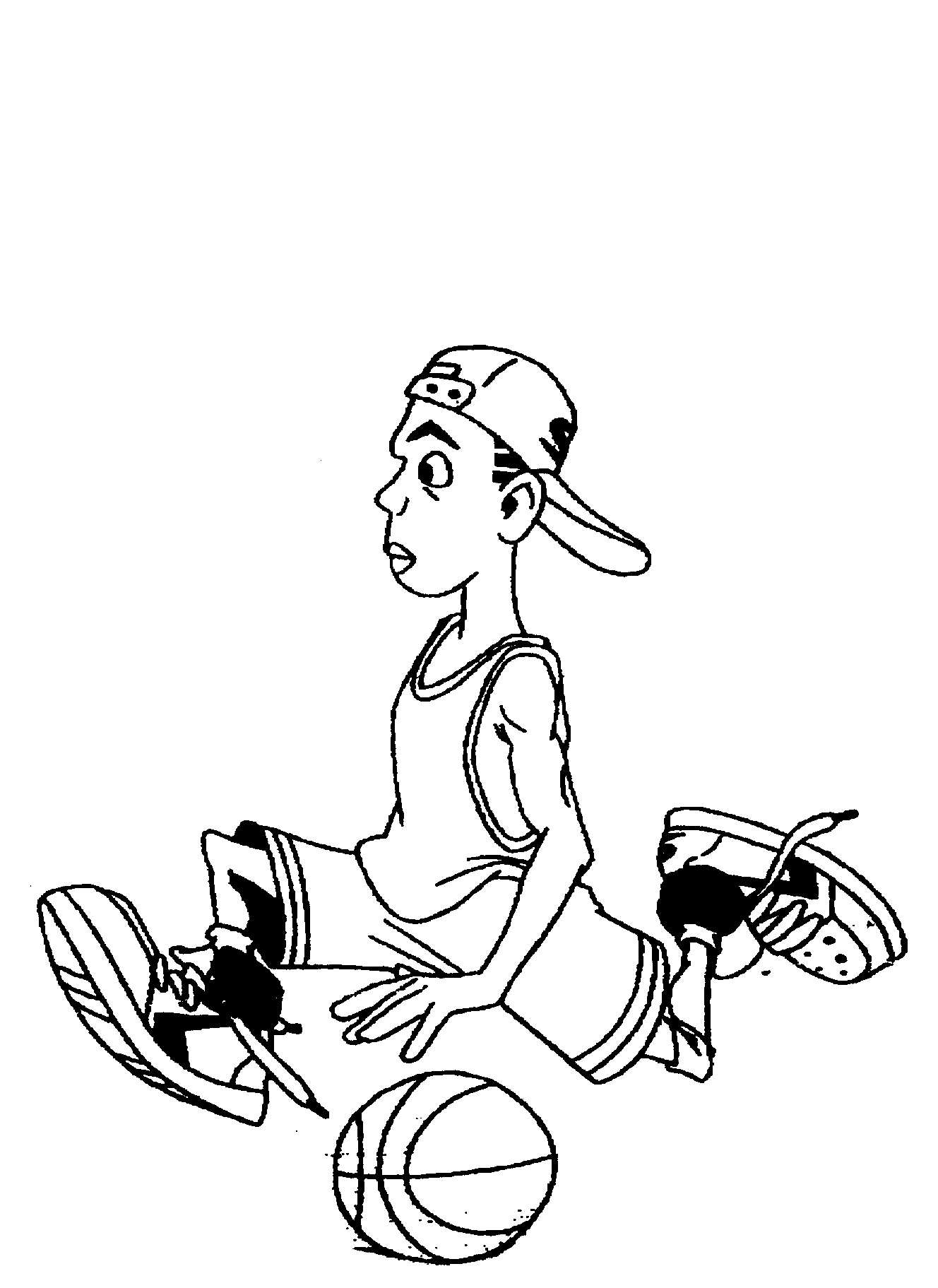 Cool Easy Basketball Drawings | Www.imgkid.com - The Image Kid Has It!