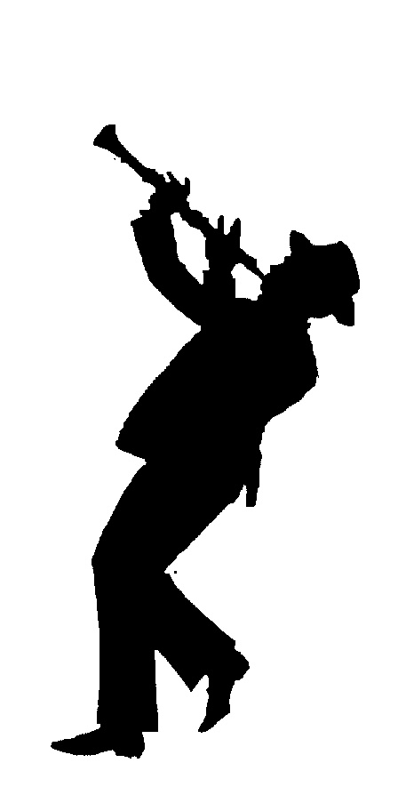 man in hat silh  playing clarinet by zatarain u0026 39 s brands