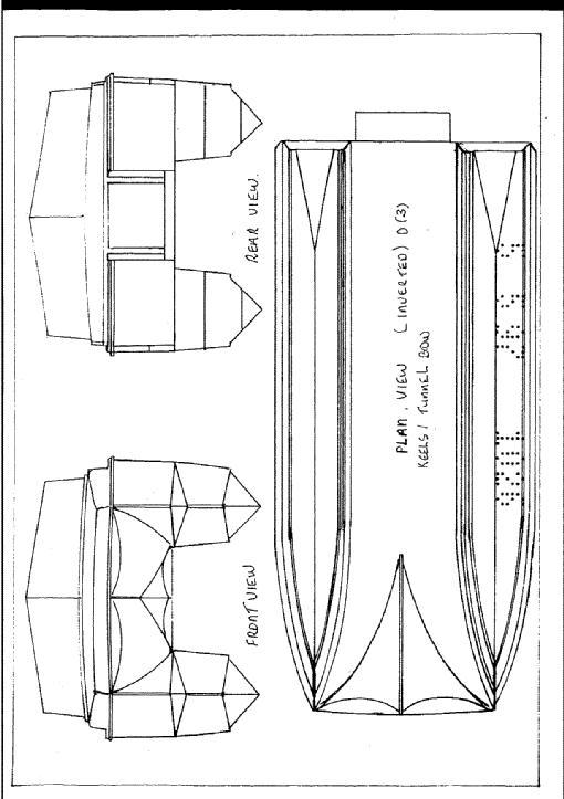 Catamaran Hull by Bernard