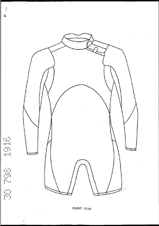 Zipperless wetsuit by rip curl international pty ltd for Decor 18 international pty ltd