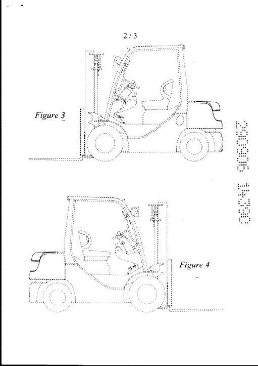 Forklift Truck by Kabushiki